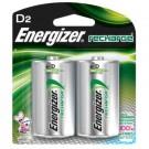 Energizer e2 D Rechargeable Batteries 2500mAh Ni-MH 1.2V 2pk